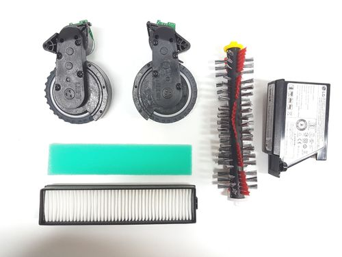 Kit 12 original spare parts LG hombot square